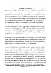 Tale | Analyse | Lars Løkkes Rasmussen | 10 i Karakter