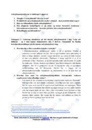 Arbejdsmarkedespolitik   IØ opgave   10 i karakter