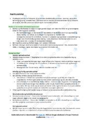 Kognitiv psykologi | Noter til psykologi