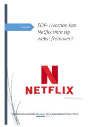 Netflix og fremtidig vækst | SRP | 10 i karakter