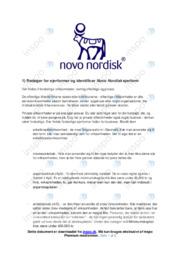 Novo Nordisk | Noter til VØ