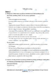 Widex AS | Virksomhedsøkonomi | 10 i karakter