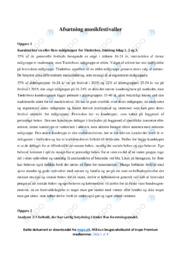 Analyse af Musikfestivaller | Afsætning | 10 i karakter
