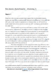 Den danske charterbranche | Afsætning | 10 i karakter