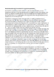 Markedet for convenienceprodukter | Afsætning | 10 i karakter