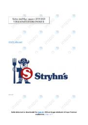 Stryhns AS | Virksomhedsanalyse | 10 i karakter