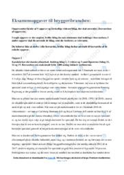 Bryggeribranchen | Eksamensopgaver | 10 i karakter