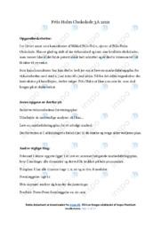 Friis Holm Chokolade | Opgave | 10 i karakter