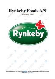 Rynkeby Foods AS | Analyse | 10 i karakter