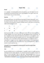 Klorofyl i Majs | Biologirapport | 10 i karakter
