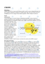 CRISPR | Bioteknologi | 12 i karakter