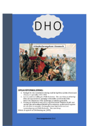 Arbejderbevægelsen i Danmark | DHO | 10 i karakter