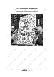 Ungdomsoprør og protestbevægelser | DHO