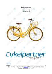 Cykelpartner.dk | Erhvervscase | 10 i karakter