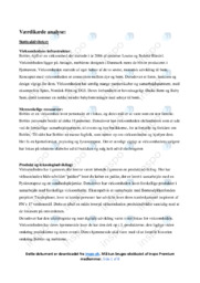 Bobles ApS | Værdikæde analyse | 12 i karakter
