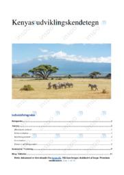 Kenyas udviklingskendetegn | IØ opgave | 10 i karakter