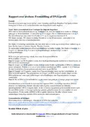 Fremstilling af DNA-profil | NV opgave | 10 i karakter