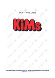 Kims Chips | SOP | 10 i karakter