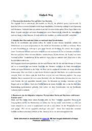 'Einfach Weg' | Analyse | 10 i karakter
