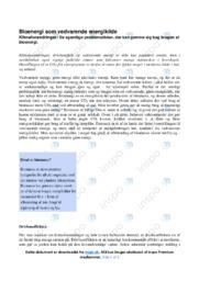 Bioenergi som vedvarende energikilde | 12 i karakter