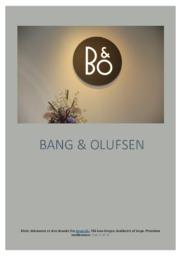 Bang og Olufsen | SOP | 10 i karakter