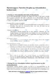 Nørrebro Bryghus og konkurrence | Afsætning