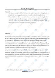 Henrik Pontoppidan | Noter Analyse