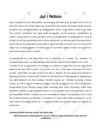 Jul i barakken | Analyse | Siegfried Lenz  | 10 i Karakter