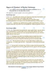 Kaninen   Analyse   Martha Christensen   10 i Karakter
