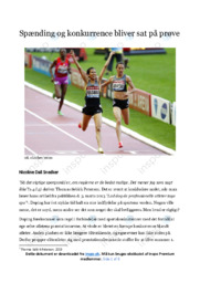 Lad dog de professionelle atleter tage epo | Analyse
