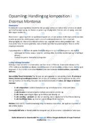 Erasmus Montanus | Noter Analyse | Ludvig Holberg