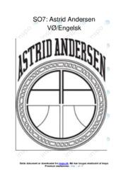 Astrid Andersen | Erhvervscase | 12 i karakter