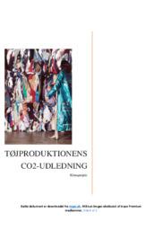Tøjproduktionens CO2-udledning | Erhvervsøkonomi