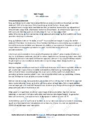 Bang og Olufsen   Virksomhedskarakteristik   Noter
