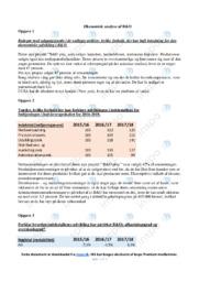 Økonomisk analyse af B og O | Erhvervsøkonomi noter
