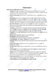 Erhvervsjura | Noter
