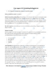 Erstatningsbetingelserne | Erhversrets noter