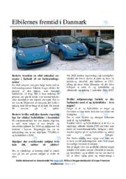Elbilernes fremtid i Danmark   Artikel   10 i karakter