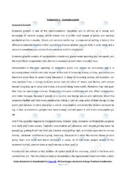 Economic Growth | IØ opgave | 12 i karakter