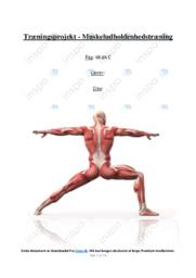Muskeludholdenhedstræning | Idræt | 12 i karakter