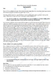 Overvægt og inaktivitet | Teoretisk idrætseksamen | 12 i karakter