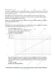 Blækregning | Matematikopgave | 12 i karakter