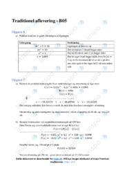 Matematiskopgave med annuitet og regression | 12 i karakter