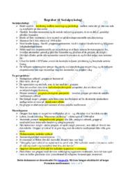 Begreber til Socialpsykologi | Psykologi noter | Over 5 sider
