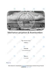 Manhattan-projektet og Atombomben | SOP | 10 i karakter