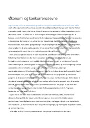 Økonomi og konkurrenceevne | maj 2013 | Samfundsfag A