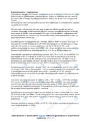 Lagkagehuset | Regnskabsanalyse | VØ noter