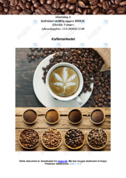 Kaffemarkedet | Afsætning | 10 i karakter