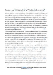Nattens Dronning | Analyse | Tove Ditlevsen | 10 i Karakter