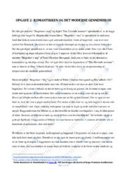 Bøgeskov i maj & Den flyvende sommer | Analyse